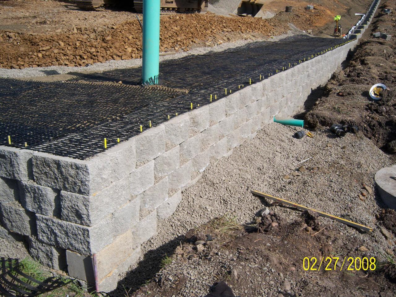 M Amp M Services Llc Retaining Walls